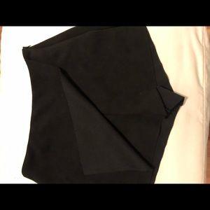 Forever 21 Skirts - NWOT Black suede forever 21 skort